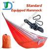Ritrovo di nylon di campeggio del Hammock dei paracadute della persona di Portable100% doppio