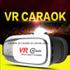 Caraok V2 Virtual Reality Vr Box 3D Glasses com auriculares