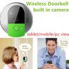 Intelligente bedienungsfertige drahtlose Türklingel WiFi Kamera-Hauptstützbewegliche Tablette-Ansicht