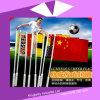 Подгонянный сигнальный флажок светящего флага Cheer национальный для промотирования (KM-004)