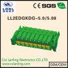 Ll2edgkdg-5.0/5.08 Pluggable Schakelaar van PCB van EindBlokken