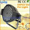 54*3W interno 3 em 1 luz da PARIDADE do diodo emissor de luz para o disco do DJ (SF-304)