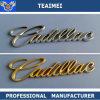 Emblemi della lettera dell'automobile placcati bicromato di potassio su ordinazione di marchio dell'automobile per Cadillac
