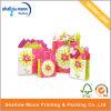 Bolsa de papel de la maneta fina de la flor de Sun que hace compras (QY150278)