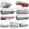 Asme Standard LPG Storage Tank Trailer, 50cbm Propane Transport Pressure Vessel, LPG Tank Trailer for Sale