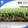 Tappeto erboso sintetico quattro colori che modific il terrenoare erba artificiale
