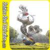 Keenhai Conception sur mesure en acier inoxydable sculpture en jardin abstrait