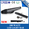 20  ATV SUV를 위한 Row 단 하나 100W 크리 말 LED Driving Roof Light Bar