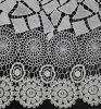 Tissu 100% chimique de lacet de nouveau polyester de la conception 2016 (SR9279)