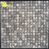 Glass nero Slate Mosaic Tiles per Pattern (TL168)