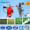 100 Mirconの0.37kw電動機を搭載する自動ブラシ水フィルター