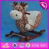 Balance de madeira Rocking Toy, Hot Wooden Rocking Toy, Giocattolo um Dondolo, Wood Children Toy Ride, Rocking Toy para Baby W16D081