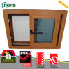 Disegno di plastica di legno della finestra di vetro di scivolamento di colore UPVC della pellicola di Renolit