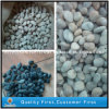 Preto/White Polished Natural Pebble Stone para o jardim Decoration
