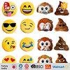 Het Materiaal van de pluche en Hoofdkussen van Emoji van de Pluche van het Type van Kussen Emoji het Leuke