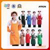 Réutiliser le tablier non tissé en gros bon marché de coton de coutume (HYap 003)