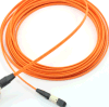 MPO-MPO Multimode Fiber Optical Patchcord con 40g Transmission