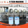 Máquina tampando de engarrafamento de lavagem do líquido Full-Automatic de 5 galões
