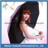 Flor Printing Anti Solar ULTRAVIOLETA Protection Folding Umbrella para Lady
