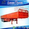 De op zwaar werk berekende Semi Aanhangwagen van de Vrachtwagen van de Lading van de Zijgevel