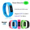 IP56 imperméabilisent le bracelet intelligent de Bluetooth avec l'étalage d'OLED (H6)