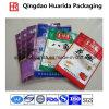 Tre guarnizioni accettano il sacchetto di plastica dell'imballaggio della spezia di ordine su ordinazione