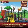 CE Joyful Kidsland enfants plastique en plein air Aire de jeux pour le parc (X12191-2)