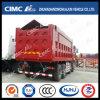 Cimc Huajun 8*4 Dump Truck con Wingspan Cover