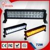 트럭 Light Bar 72W 13.5 Inch