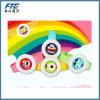 子供のための多彩な漫画のロゴのカの反発する腕時計