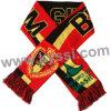 De Dubbele Partijen die van de Kop van de Wereld van België 2014 de Verschillende Ontwerpen van de Sjaal van de Voetbal van de Jacquard breien