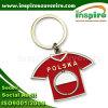 Recuerdo Keychain de la camiseta de Polska para el regalo (MS470)