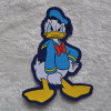 Donald Duck Cartoon Fabric Label für Foot Wears