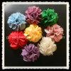 Weinlese-preiswerte Chiffon- Blume, bunter Gewebe-Blumen-Haar-Zusatz (FFA-0201)