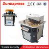 Q28y 4X200mm machine de découpage hydraulique de cornière de 40 à 135 degrés