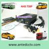 バス機密保護のための4CH 720pのビデオ録画車DVR