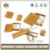 Gelbe Schmucksache-Geschenk-Luxuxklage-Papierkasten (YKNS0363)