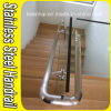 Cubierta decorativa de acero inoxidable Cristal de escalera Baranda
