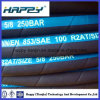 Dn 5/8  Hydraulic Wire Braided Rubber Hose mit SAE100 R2