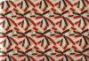 절묘한 인쇄된 폴리에스테 공단