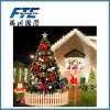 Indoor all'ingrosso 1.5m LED Light Christmas Craft Tree con Christmas Ball
