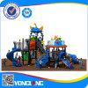 Piccoli giocattoli prescolari esterni del campo da giuoco di prezzi bassi/giocattoli esterni di plastica del campo da giuoco