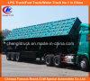 Tri-Axle Hochleistungs50ton Side Tipper Truck Trailer für Mineral Transportation