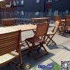 Decking impermeable WPC de la alta calidad al aire libre