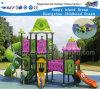 Campo de jogos Hf-12601 do parque de diversões da corrediça da caraterística da flor