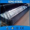 Acero de hoja acanalado galvanizado del material para techos de la inmersión caliente Z80