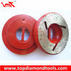 Caracol Lock Edge Shaping Wheels para Stone