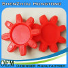 Spaltepin-Kupplung, welche die Auflage/PU Auflage Dämpfung Dämpfung ist