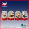 Artes de encargo promocionales de Navidad de Papá Noel del globo de la nieve de la Navidad