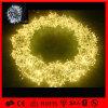 LEDのモチーフの装飾のクリスマスの球の形の空想の花輪ライト